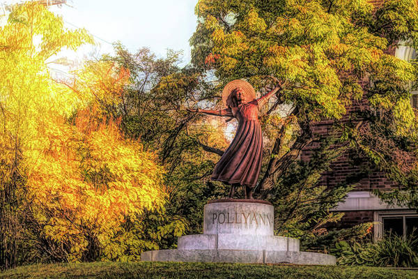 Photograph - Pollyanna In Littleton New Hampshire by Jeff Folger