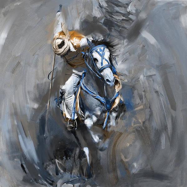 Polo Wall Art - Painting - Polo 184 2  by Mawra Tahreem