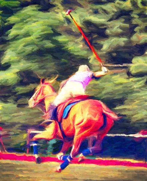 Polo Game 2 Art Print