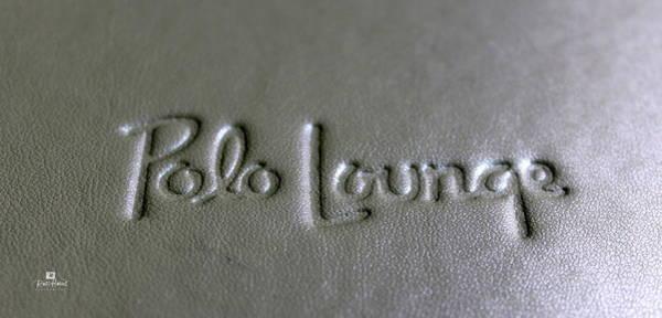 Polo Lounge Beverly Hills Art Print