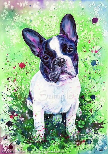 Lucky Clover Painting - Polo Valentino by Zaira Dzhaubaeva