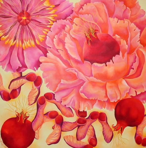 Wall Art - Painting - POM by Elizabeth Elequin