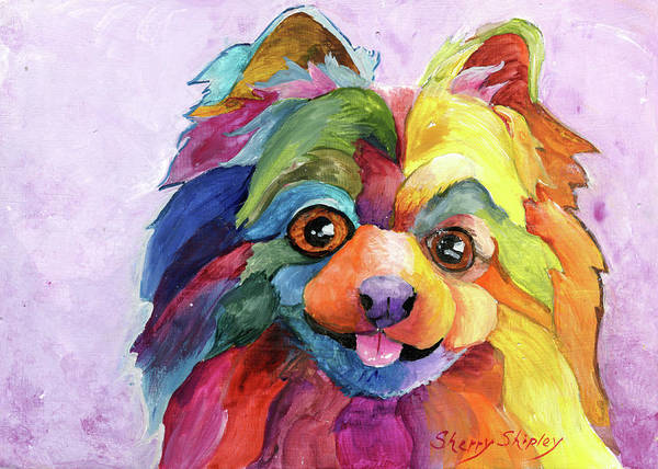 Painting - Pom Too by Sherry Shipley