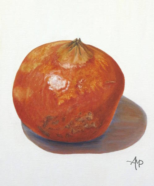 Painting - Pomegranate by Angeles M Pomata