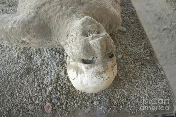 Timeworn Photograph - Pompei Man by Patricia Hofmeester