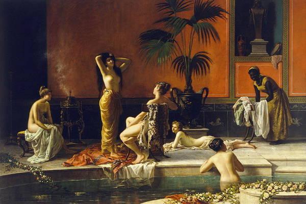 Perfect Body Painting - Pompeian Bath by Niccolo Cecconi