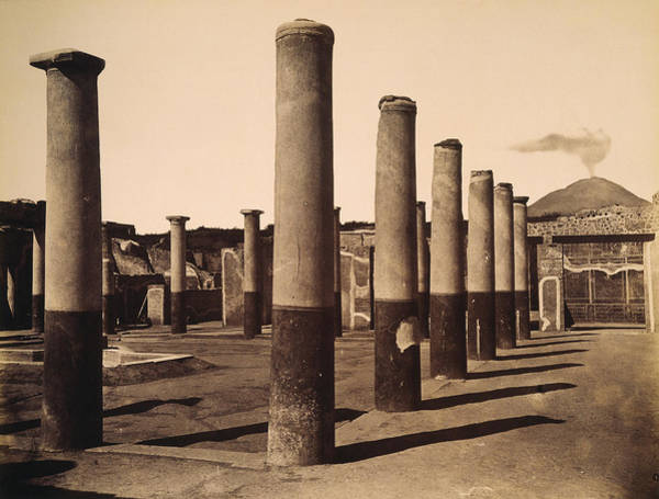 Wall Art - Photograph - Pompeii, Excavation by Granger