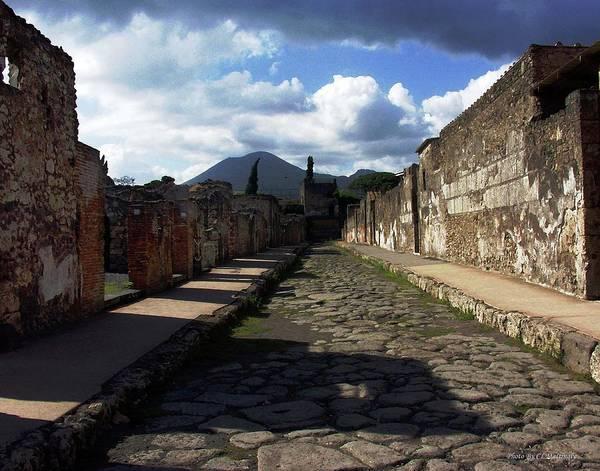Photograph - Pompeii Via by Coleman Mattingly