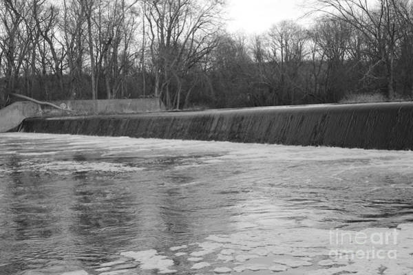 Photograph - Pompton Spillway In January by Christopher Lotito