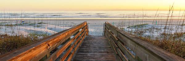 Photograph - Ponce De Leon Inlet Beach Path by Stefan Mazzola