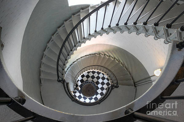 Photograph - Ponce De Leon Inlet Lighthouse Staircase No. 2 by Todd Blanchard
