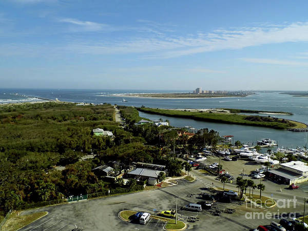 Photograph - Ponce Inlet And Marina by D Hackett