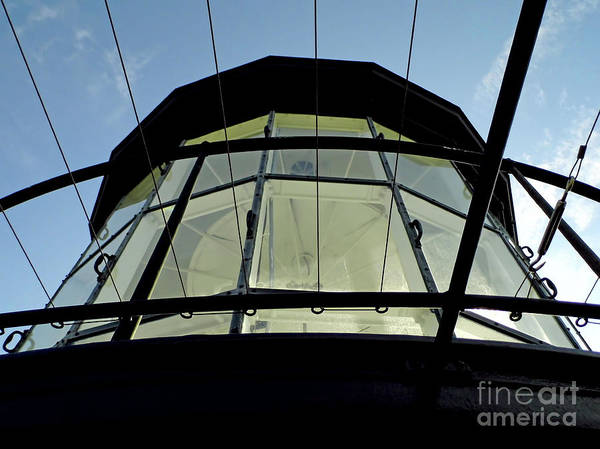 Photograph - Ponce Inlet Fresnel Lenses by D Hackett