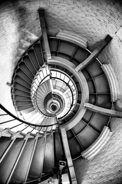 Wall Art - Photograph - Ponce Inlet Lighthouse Stairs by Greg Waters