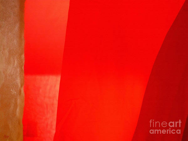 Photograph - Poncho Abstract 9 by Jeff Breiman