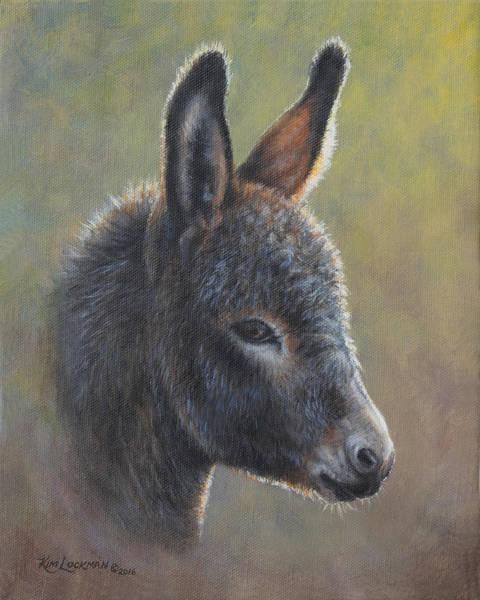 Painting - Poncho by Kim Lockman