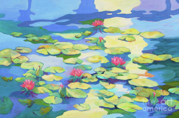 Wall Art - Painting - Pond 7 by Sharon Nelson-Bianco