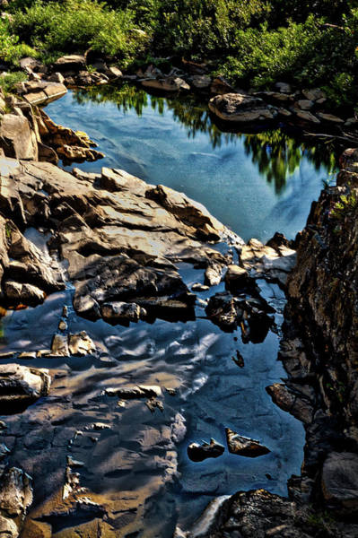 Photograph - Pond At Great Falls #2 by Stuart Litoff