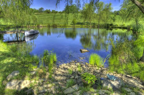 Photograph - Pond Dreams 1 by Sam Davis Johnson