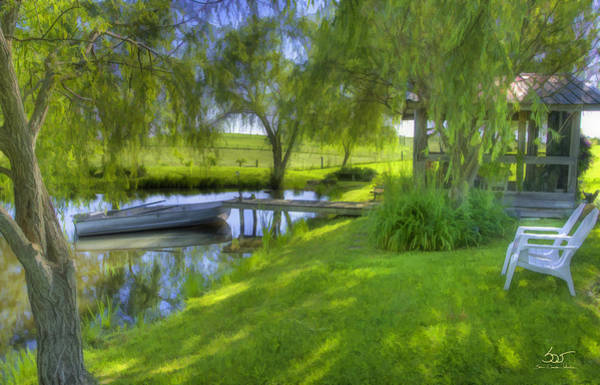 Photograph - Pond Dreams 2 by Sam Davis Johnson