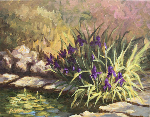 Painting - Pond Life by Jose Rodriguez