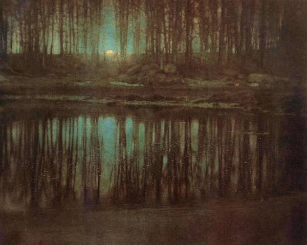 Painting - Pond Moonlight by Edward Steichen