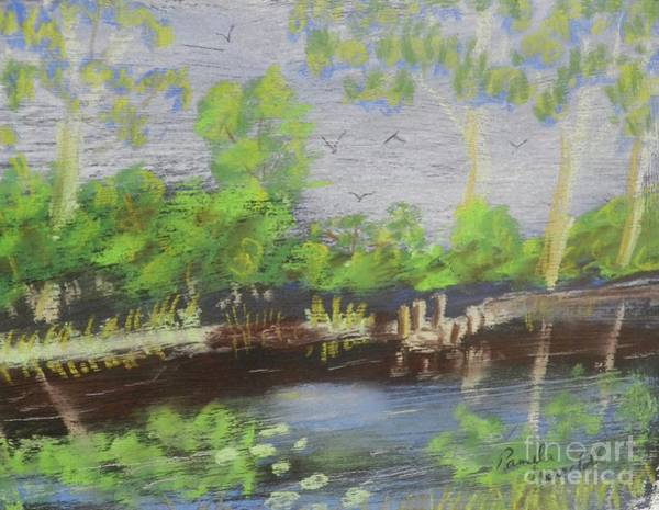 Wall Art - Painting - Pond by Pamela Meredith
