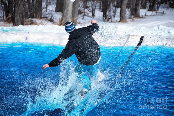 Photograph - Pond Skimming by Lois Bryan