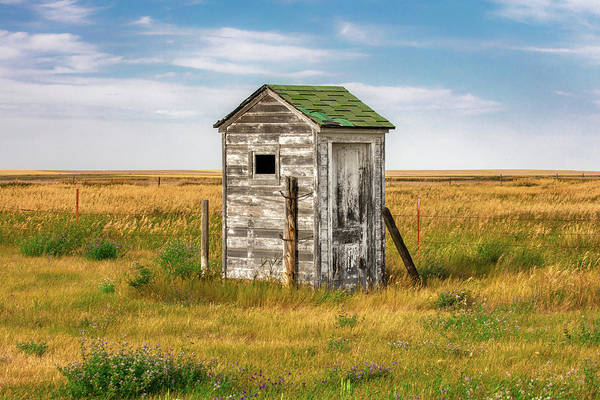 Schoolhouse Photograph - Pendroy Outhouse by Todd Klassy