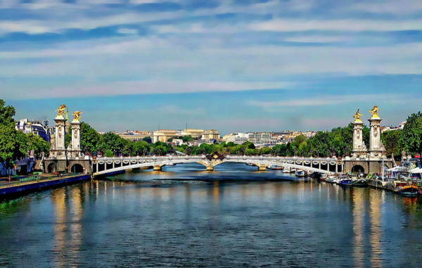 Photograph - Pont Alexandre IIi by Anthony Dezenzio