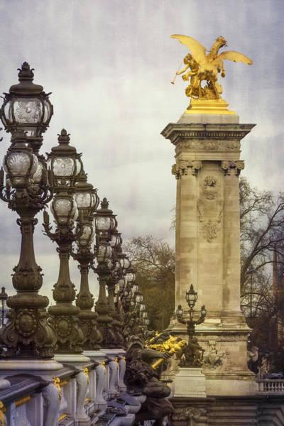 Alexandre Photograph - Pont Alexandre IIi Paris by Joan Carroll