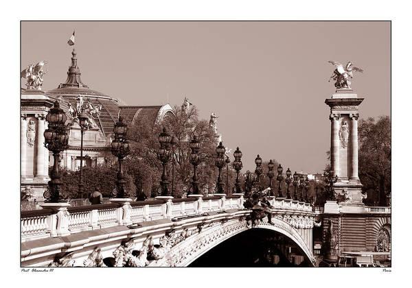 Photograph - Pont Alexandre Paris 2c by Andrew Fare