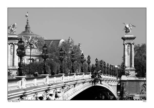 Photograph - Pont Alexandre Paris 2d by Andrew Fare