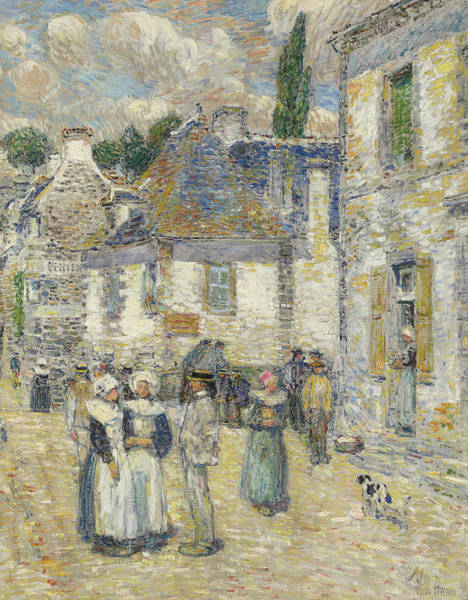 Painting - Pont-aven by Childe Hassam
