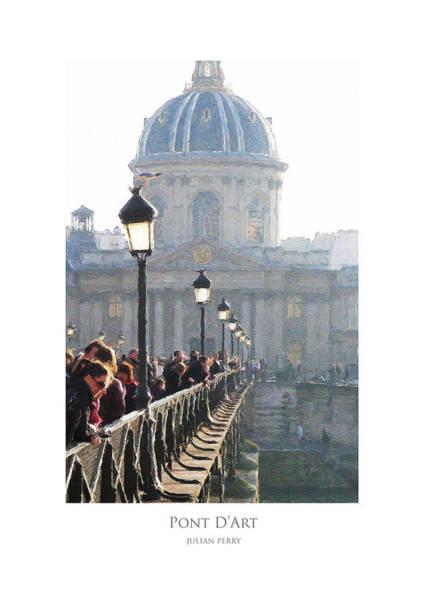 Pont D'art Art Print