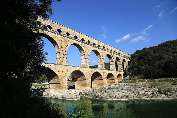 Photograph - Pont Du Gard 1 by Andrew Fare