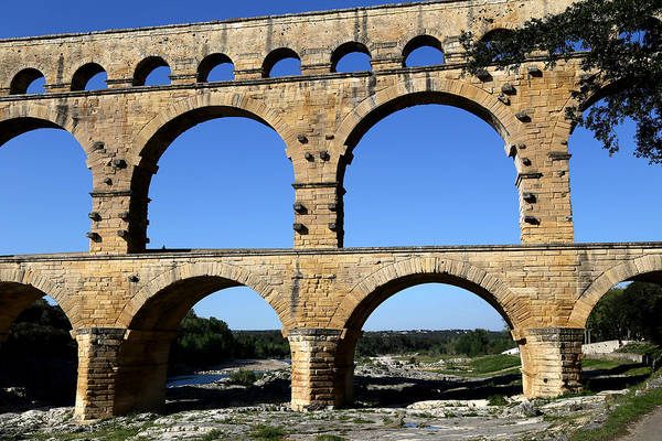 Photograph - Pont Du Gard 2 by Andrew Fare