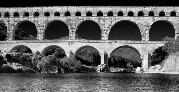 Photograph - Pont Du Gard Panorama by Richard Goodrich