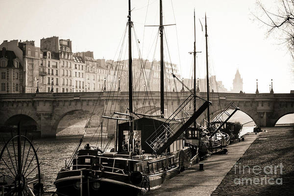 Wall Art - Photograph - Pont Neuf And The Ile De La Cite In Paris, France, Europe by Bernard Jaubert