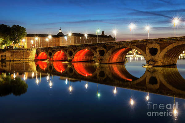 Wall Art - Photograph - Pont Neuf In Toulouse by Elena Elisseeva