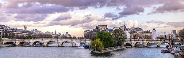 Photograph - Pont Nuef, Paris, France by Alexandre Rotenberg