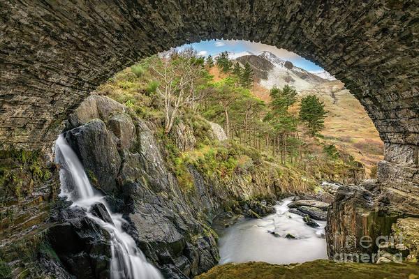Photograph - Pont Pen Y Benglog Bridge Snowdonia by Adrian Evans