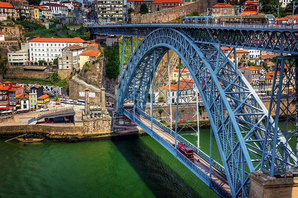 Portuguese Photograph - Ponte Luis Porto Portugal  by Carol Japp