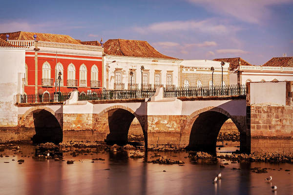 Photograph - Ponte Romana And River Gilao- Tavira by Barry O Carroll
