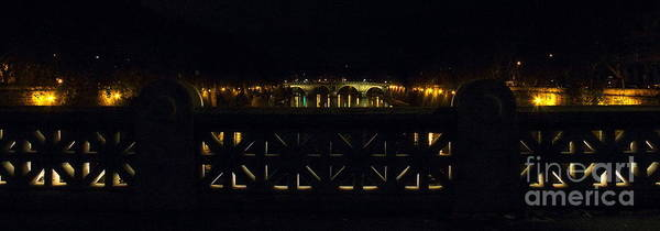 Photograph - Ponte Sisto At Night by Angela Rath