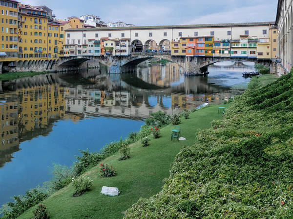 Photograph - Ponte Vecchio #1 by S Paul Sahm