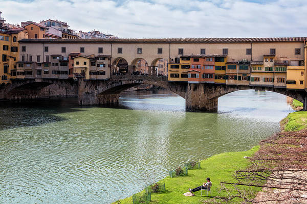 Photograph - Ponte Vecchio Florence Italy II by Joan Carroll