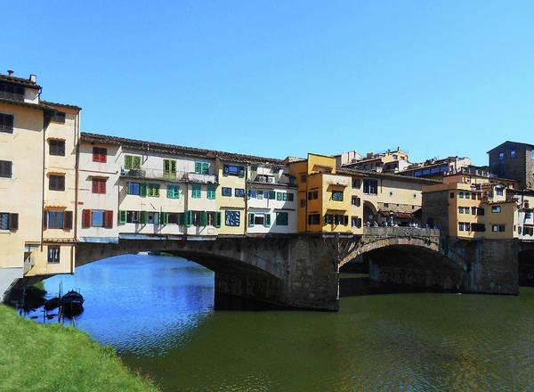 Florence Painting - Ponte Vecchio Florence Italy by Irina Sztukowski