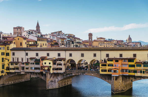 Photograph - Ponte Vecchio In Florence by Alexandre Rotenberg