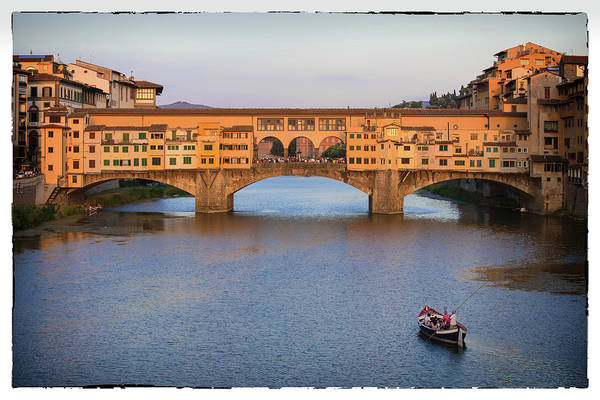 Photograph - Ponte Vecchio,florence Italy by Matthew Pace